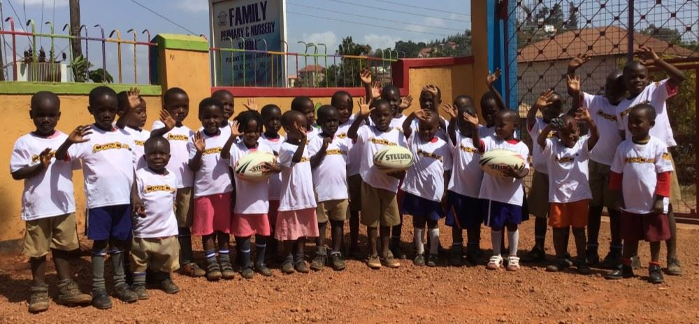 Wasps helps Africa's next generation sporting stars