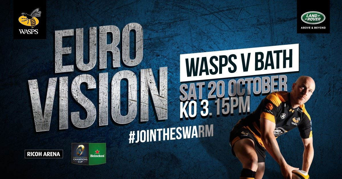Wasps vs Bath 2018